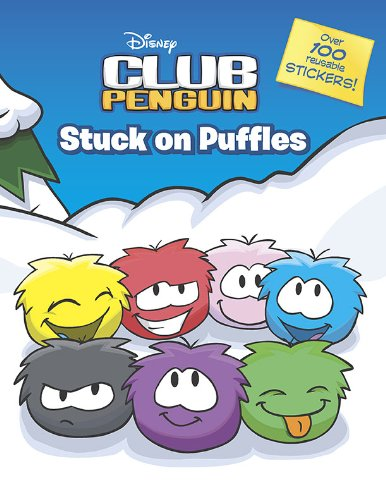 (Stuck on Puffles: A Sticker Scrapbook (Disney Club Penguin) )