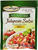 Mrs. Wages Jalapeno Salsa Mix, 0.8-Ounce Pouches (Pack of 12)