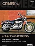 img - for Harley-Davidson XL Sportster: Maintenance, Troubleshooting, Repair (Clymer Color Wiring Diagrams) by Mike Morlan (2009-08-14) book / textbook / text book