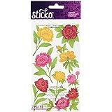 Sticko Peonies Stickers