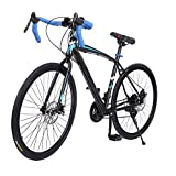 Fashine 700C 21 Speed Shimano Road Bicycle Fixed Gear Cycling Racing Mountain Bike(US Stock)