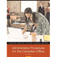 By Lauralee Kilgour - Administrative Procedures for the Canadian Office, Eighth Canadian Ed(8th Edition) (8th Eighth Edition)