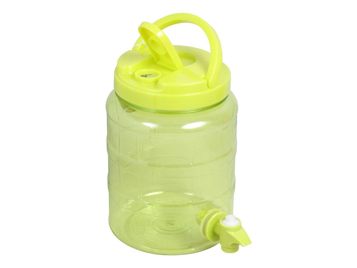 Dispensador de bebidas 2 litros plástico surtidor grifo agua dispensador de Alsino P830033 Grün: Amazon.es: Hogar
