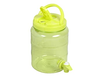 Dispensador de bebidas 2 litros plástico surtidor grifo agua dispensador de Alsino P830033 Grün