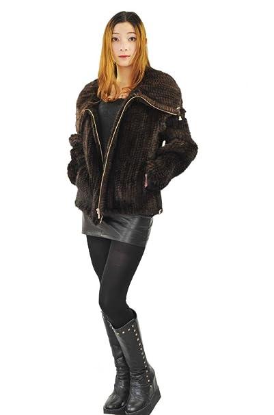 CX piel mujeres chaquetas, tejidos Real abrigos de piel de ...