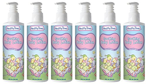 Healthy Times Soothing Baby Lotion, 8 Ounce (6 Count)