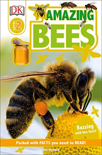 DK Readers L2: Amazing Bees: Buzzing with Bee Facts! (DK Readers Level 2)