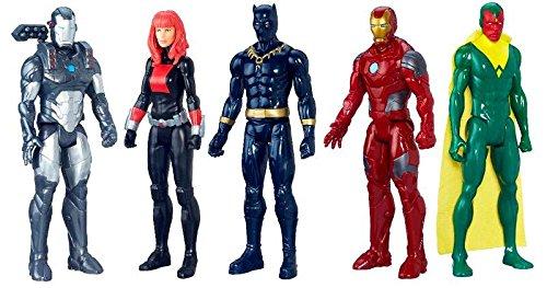 Marvel Avengers Titan Hero Series Exclusive 5 Figure Set Hasbro Toys