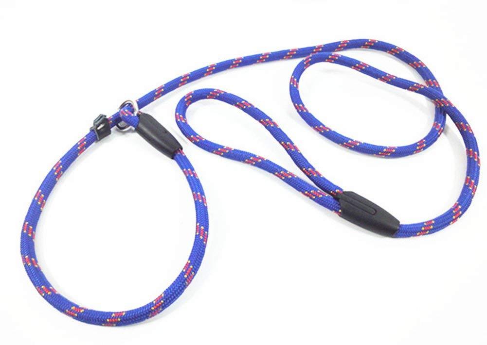 bluee 1401.2cm bluee 1401.2cm Cute Pet Training Elastic Traction Belt Handle Bungee Belt Elastic,bluee,140  1.2cm