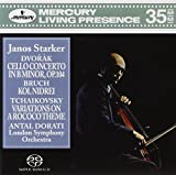 Dvorák Cello Concerto in B minor, Op. 104; Bruch Kol Nidrei; Tchaikovsky Variations on a Rococo Theme / Dorati, Starker, London Symphony Orchestra (3-Channel and Stereo Hybrid SACD)