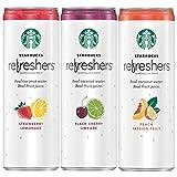 Starbucks Refreshers Sparkling Juice Blends, 3 Flavor Variety Pack...