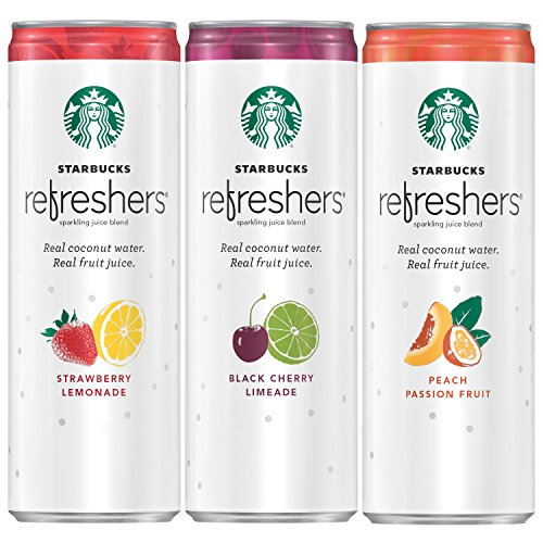 Starbucks Refreshers Variety Coconut Packaging