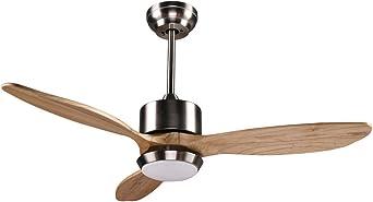 Wonderlamp NARE Ventilador De Techo, 12 W, Gris: Amazon.es ...
