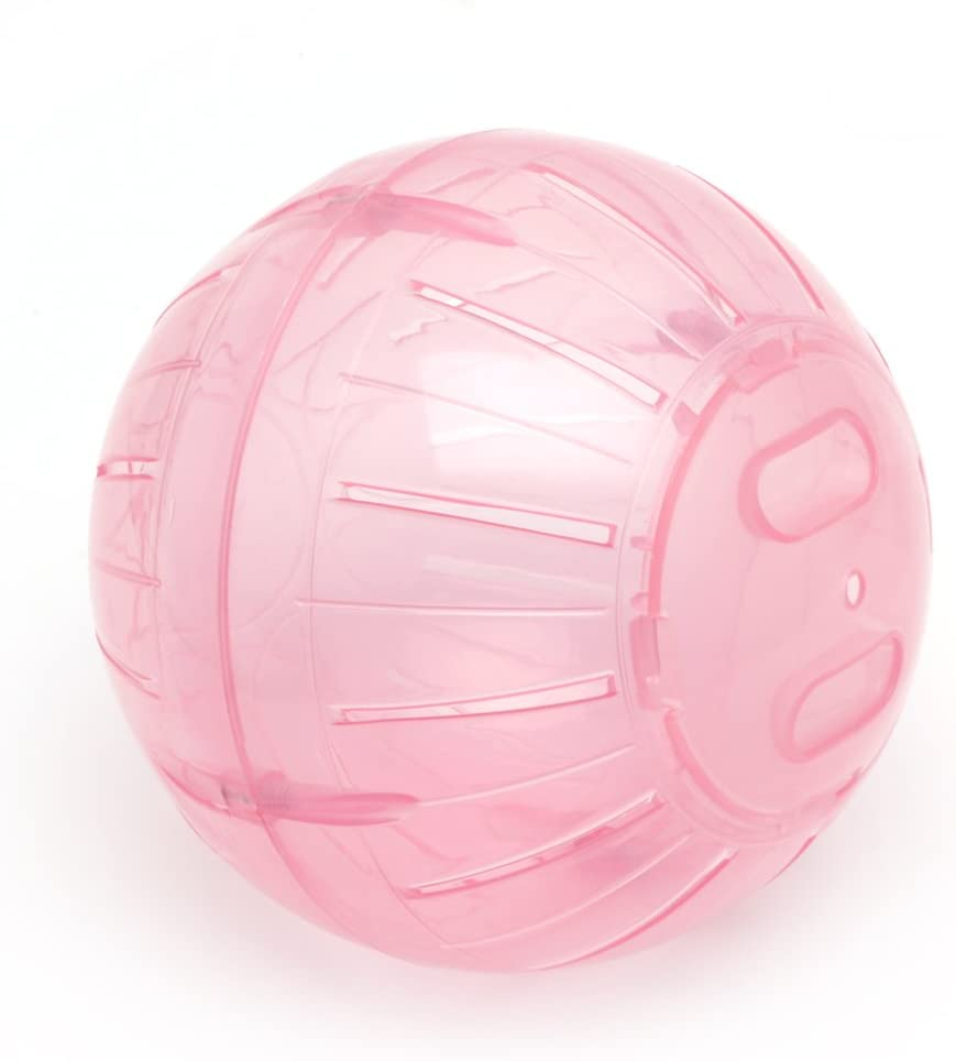 GGsheng 12cm Colorful Run-About Exercise Ball Clear Hamster Mouse Rate Plastic Toy New
