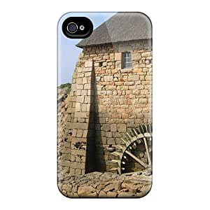 4/4s Scratch-proof Protection Case Cover For Iphone/ Hot Moulin Phone Case