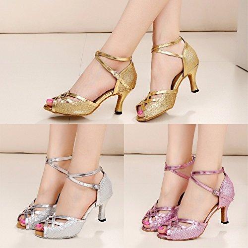 KAIRRY - Sandalias de vestir para mujer dorado