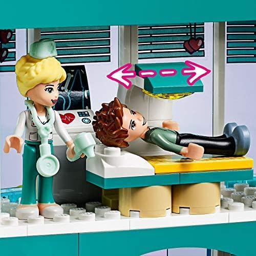 LEGO 41394 Friends Krankenhaus von Heartlake City mit 3 Spielfiguren