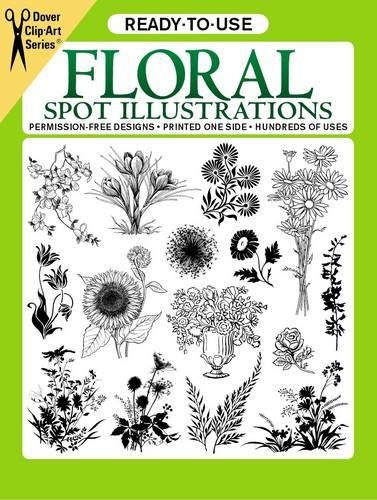 Botanical Clipart (Ready-to-Use Floral Spot Illustrations (Dover Clip Art Ready-to-Use))