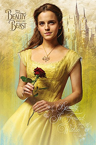 Belle Poster Print - Beauty And The Beast - Movie Poster / Print (Belle - Yelow Dress) (Size: 24
