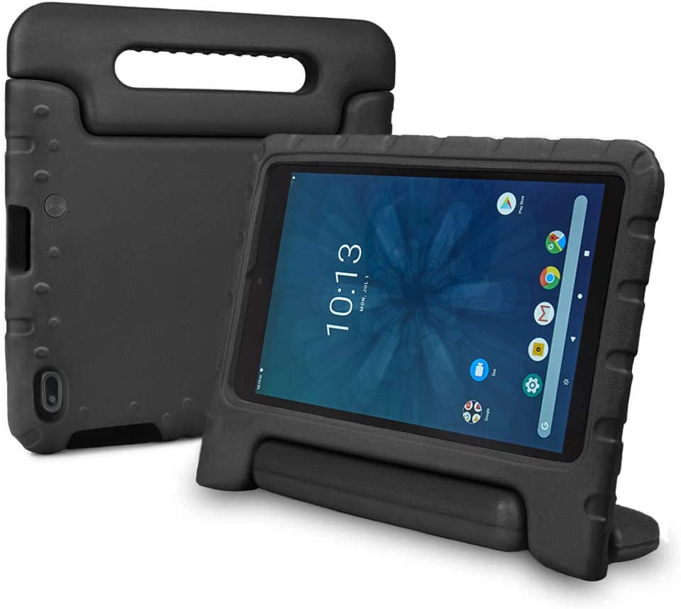 Bolete Walmart Onn 8 Inch Tablet Case, Light Weight Shockproof Protective Handle Stand Cover Kids Case for Walmart Onn Android Tablet 8 Inch Model ONA19TB002 - Black