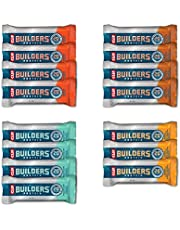 Builder's Bar CLIF BAR - BUILDERS Protein Bar Variety Pack, 20 Grams of Protein, Helps Build & Repair Muscles, Replenishes Energy, Zero Trans Fat, Gluten-Free, Non-GMO (2.4 oz Per Bar, 15 Count), chocolate peanut butter flavour