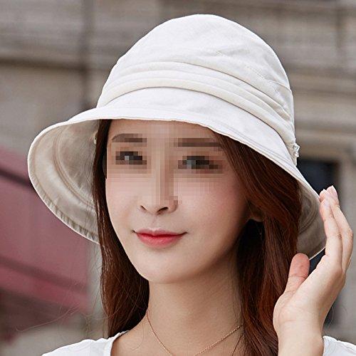 Multicolor Para Packable Wide Upf50 Brim Summer Grey Sol Hats Sunhat Cubo Sombrero Mujer rxCrRnf