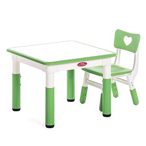 Amazon.com: Muebles ZH para niños, mesa de actividades para ...