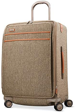 Hartmann Tweed Legend Expandable Softside Luggage with Double Spinner Wheels