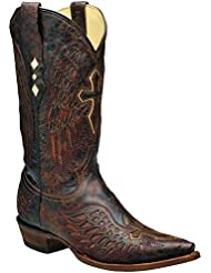 Corral Men's Wing & Cross Cowboy Boots