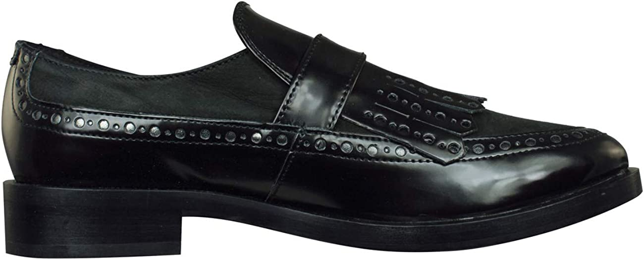 Modelo Zapatos para Mujer GEOX Donna Brogue Negro Marca GEOX Color Negro Zapatos para Mujer