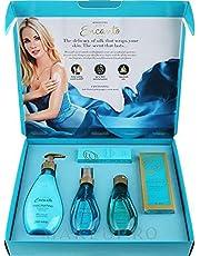 Encanto Alluring Avon set - Pack of 5 - consisting of Eau de toilette 50 ml, body spray 100 ml, Body Lotion 250 ml, Bath oil 100 ml and Hand Cream 30 ml - 2725605237221