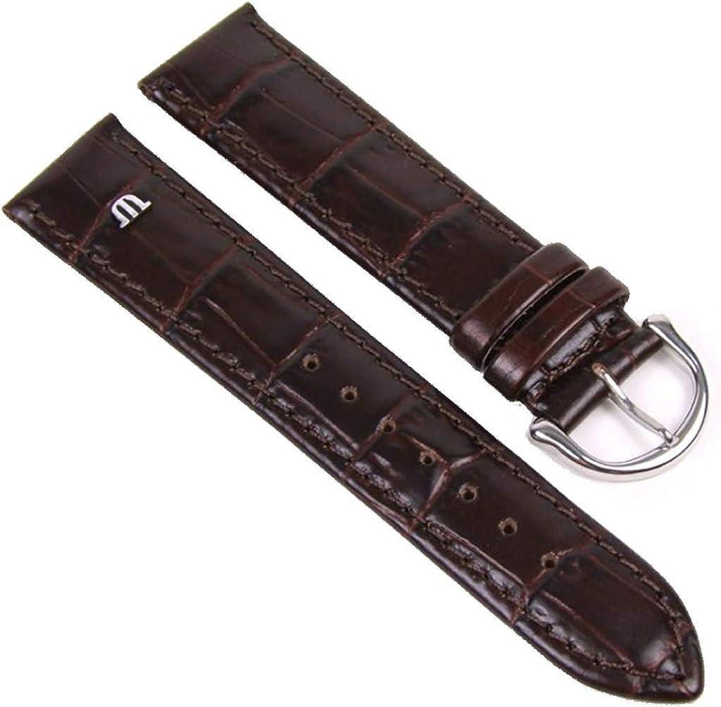 Maurice Lacroix ML-22315-19S - Correa para reloj, piel, color marrón