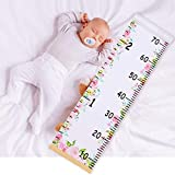 Beinou Baby Growth Chart Ruler for Kids Wood