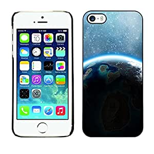 YiPhone /// Prima de resorte delgada de la cubierta del caso de Shell Armor - Space Planet Galaxy Stars 66 - Apple iPhone 5 / 5S