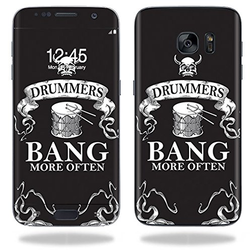 MightySkins Skin for Samsung Galaxy S7  Drummers | Protective, Durable, and Unique Vinyl Decal wrap Cover | Easy to Apply, Remove, and Change Styles | Made in The USA