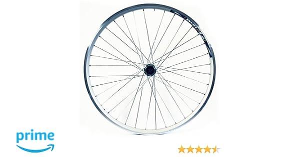 Wilkinson - Rueda trasera para bicicleta (26 x 1,75, doble pared, 8/9) plata plata Talla:26 x 1,75: Amazon.es: Deportes y aire libre