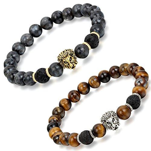 Aroncent Tiger Buddhist Bracelet Buddha
