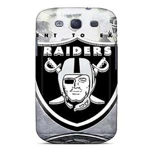 Samsung Galaxy S3 VqP16936IiUb Provide Private Custom HD Oakland Raiders Series Bumper Hard Phone Cover -SherieHallborg