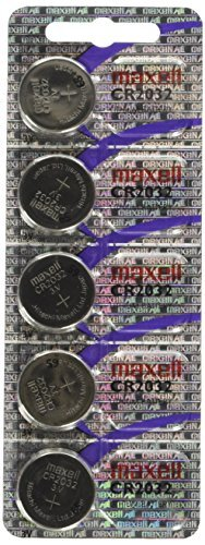 CR2032 Maxell LITHIUM 5 BATTERIES (Motherboard Battery)