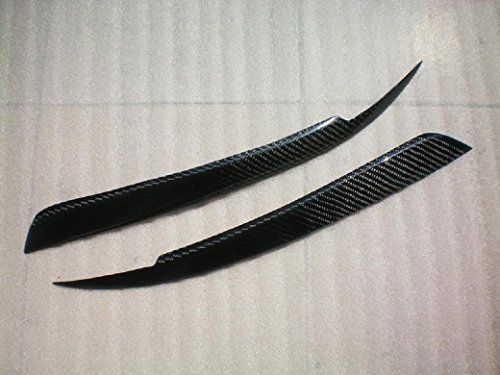 (JPCarbon Carbon Fiber Headlight Eyelids for Nissan R33 GT-R GTR 1995-1998)