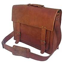 Vintge Crafts Laptop Messenger Bag, Leather Men Satchel, Leather Office Bag
