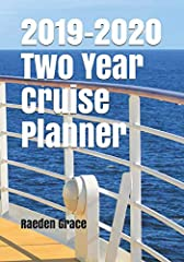 This is a unique two year planner to help you plan your cruises. Many people plan their cruise vacations one to two years out so this would be a great way to keep up with making payments, planning excursions, itineraries, packing lists, thing...