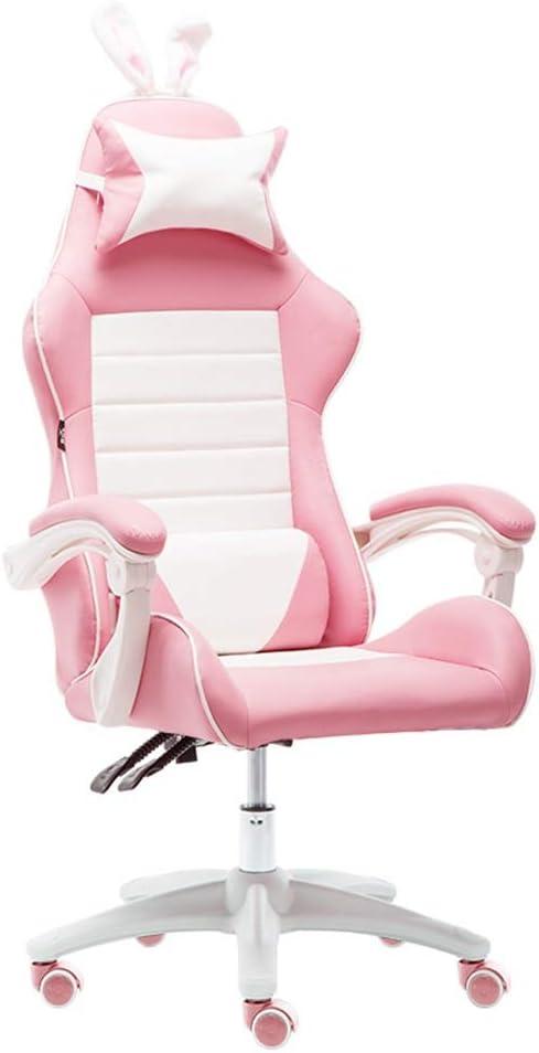 Sillas Muebles Oficina Color Rosa niña Adulto Juego Ordenador ...