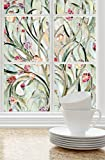 Artscape, 01-0156, 24 in. W x 36 in. H Spanish GardenDecorative Window Film