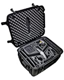 Case Club Waterproof DJI Inspire 2 Drone Wheeled Case with Silica Gels