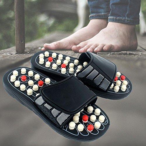 Unisex Masaje Masaje Fitness Masaje de de pies de Antideslizantes Zapatillas Zapatillas de Salud Yoga Acupuntura Zapatillas UtAqwS