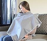 Babymoon Nursing and Breastfeeding Cover, Grey Dot