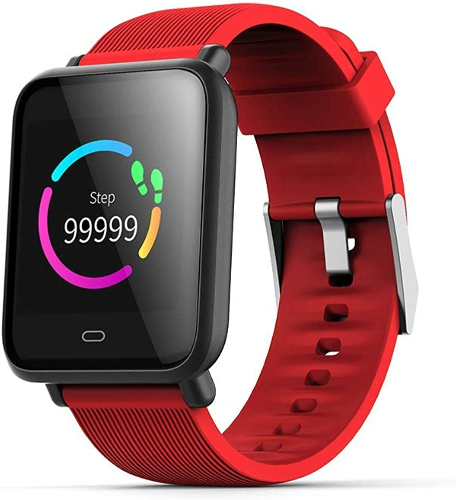 Color Screen Smartwatch IP67 Waterproof Fitness Wristband Step Counter, Call with Heart Rate Monitor Activity, tstracker 7 Sport Watch for iOS Android