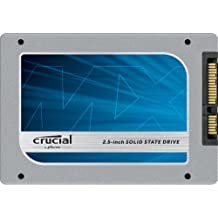 """Crucial MX100 256GB SATA 2.5"""" 7mm (with 9.5mm adapter) Internal Solid State Drive CT256MX100SSD1"""