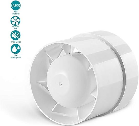 EtexFan 125 mm Extractor de Ventilador de Conducto Silencioso en Línea 16W Bajo Consumo de energía Ventilación 150 m³ / h para Oficina, Hotel, Baño: Amazon.es ...